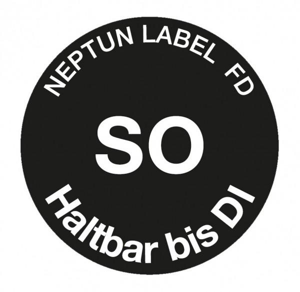 NEPTUN Label FD - Ronde 19 mm, 500 Etiketten pro Rolle