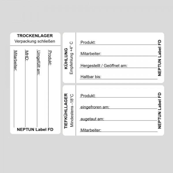 NEPTUN Label FD - Lageretiketten