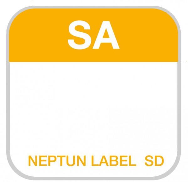 NEPTUN Label SD - eckig - 25 mm, 500 Etiketten pro Rolle