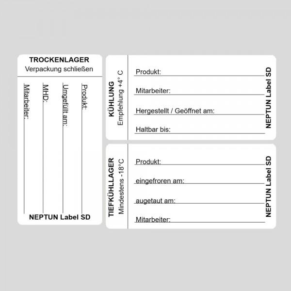 NEPTUN Label SD - Lageretiketten
