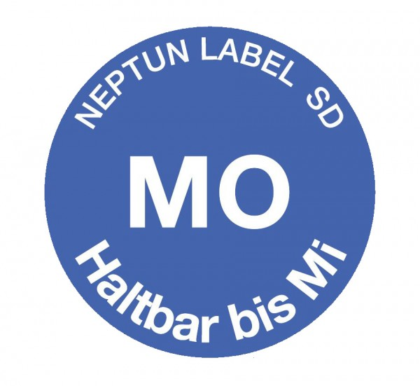 NEPTUN Label SD - Ronde 19 mm, 500 Etiketten pro Rolle